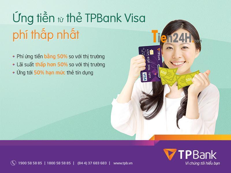"""TPBank – Ngân hàng đầu tiên ra mắt """"Ứng tiền từ Thẻ tín dụng"""""""