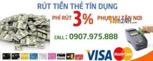 rut tien the tin dung