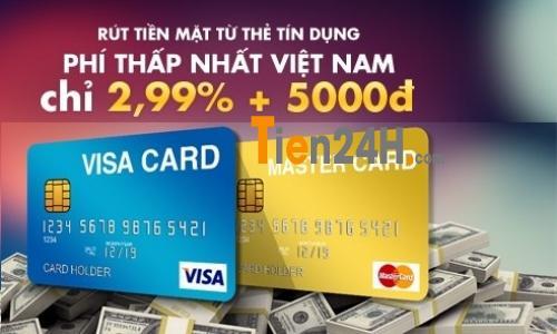 Nở rộ dịch vụ hỗ trợ rút tiền mặt lách lãi suất cho chủ thẻ tín dụng