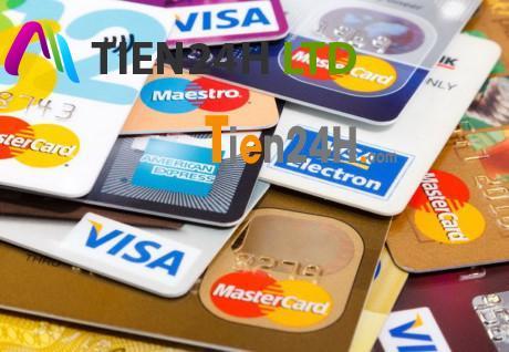 Vay tín chấp theo hạn mức thẻ tín dụng thẻ visa master