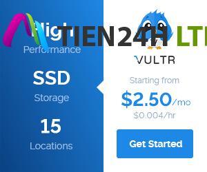Hướng dẫn mua VPS Vultr làm Website
