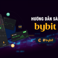 Hướng dẫn đăng ký mở tài khoản sàn Bybit, nạp tiền, rút tiền, đặt lệnh trên sàn Bybit