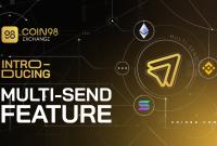 Multi-send là gì? Gửi token đến nhiều ví trong một giao dịch duy nhất trên Coin98 Exchange