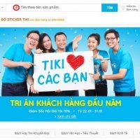 Hướng dẫn, cách mua hàng trên Tiki.vn